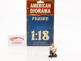 50s Style cifra V 1:18 American Diorama