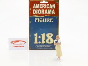 50s Style figuur VIII 1:18 American Diorama