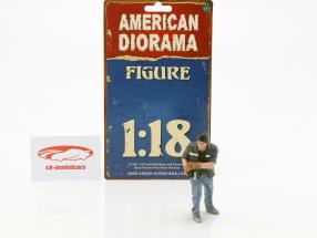 figure Mr. Chopman 1:18 American Diorama