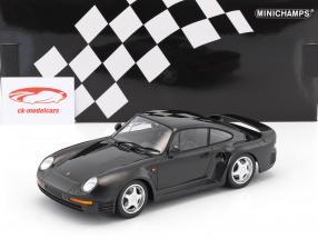 Porsche 959 Baujahr 1987 dunkelgrau metallic 1:18 Minichamps