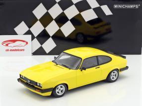 Ford Capri 3.0 année de construction 1978 jaune 1:18 Minichamps