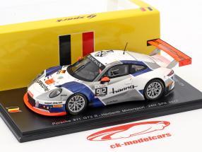 Porsche 911 GT3 R #912 24h Spa 2017 Herberth Motorsport 1:43 Spark