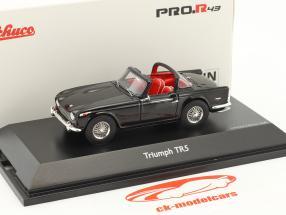 Triumph TR5 open Top black 1:43 Schuco