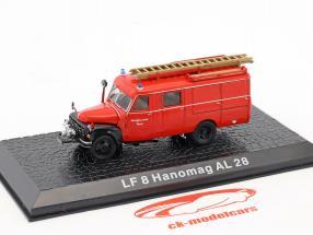 Hanomag AL28 LF8 usine pompiers Töging 1:72 Altaya