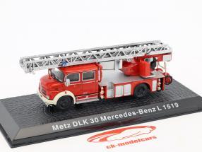 Mercedes-Benz L1519 Metz DLK30 brandweer 1:72 Altaya