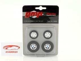 Malco Gasser roue et pneu Set 1:18 GMP