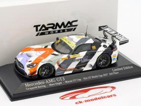 Mercedes-Benz AMG GT3 #999 3 ° FIA GT Cup Macau 2017 Maro Engel 1:43 Minichamps
