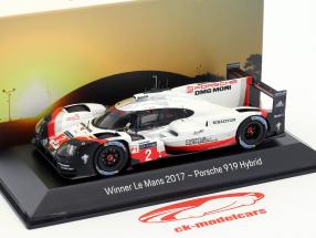 Porsche 919 Hybrid #2 vencedor 24h LeMans 2017 Bernhard, Hartley, Bamber 1:43 Spark