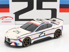 BMW 3.0 CSL Hommage R #25 wit 1:18 Norev