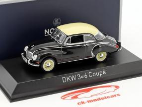 DKW 3=6 Coupe Baujahr 1958 schwarz 1:43 Norev
