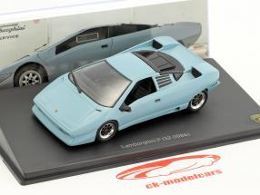 Lamborghini P 132 anno di costruzione 1986 blu 1:43 Leo Models