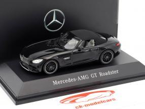 Mercedes-Benz AMG GT Roadster Baujahr 2017 magnetitschwarz metallic 1:43 Spark
