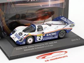 Porsche 956K #2 colo recorde Nordschleife 6.11,13 min 1000km Nürburgring 1983 Bellof, Bell 1:43 CMR