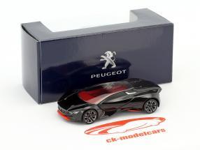 Peugeot Vision GT year 2015 black 1:64 Norev