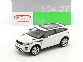 Range Rover Evoque Bouwjaar 2011 wit 1:24 Welly