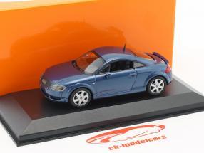Audi TT Coupe Baujahr 1998 blau metallic 1:43 Minichamps