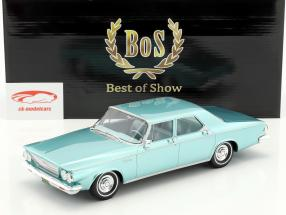 Chrysler Newport 4-Door Sedan anno di costruzione 1963 luminoso verde metallico 1:18 BoS-Models