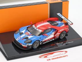 Ford GT #66 gagnant classe GTLM 24h Daytona 2017 Müller, Hand, Bourdais 1:43 Ixo