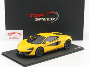 McLaren 570S vulkangelb 1:18 TrueScale