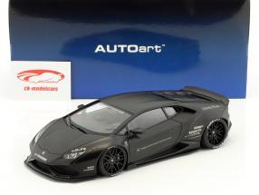 Lamborghini Huracan Liberty Walk LB-Works tappetino nero 1:18 AUTOart