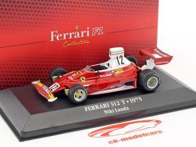 Niki Lauda Ferrari 312T #12 World Champion formula 1 1975 1:43 Atlas