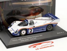 Porsche 956K #2 ganador 1000km Silverstone 1983 Bellof, Bell 1:43 CMR