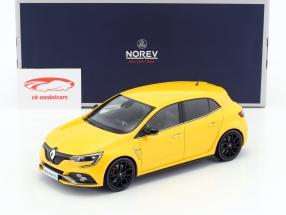 Renault Megane R.S. année de construction 2017 sirius jaune 1:18 Norev