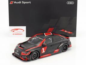 Audi RS 3 LMS #1 presentation year 2017 warpaint 1:18 Spark