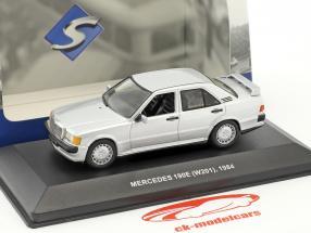 Mercedes-Benz 190E (W201) Baujahr 1984 silber metallic 1:43 Solido