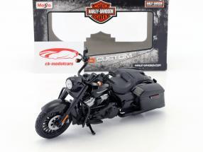 Harley-Davidson Road King Special année de construction 2017 noir 1:12 Maisto