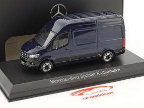 Mercedes-Benz corredor de velocidade painel van cavansite azul metálico 1:43 Norev
