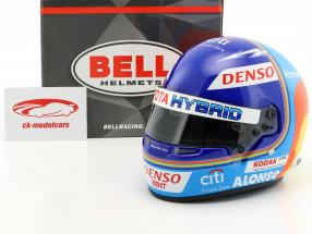 Fernando Alonso Toyota Gazoo Racing Winner 24h LeMans 2018 casco 1:2 Bell