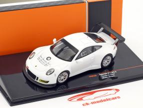 Porsche 911 GT3 R Ready to race white 1:43 Ixo