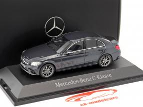 Mercedes-Benz C-Klasse MOPF W205 anthrazitblau 1:43 Norev