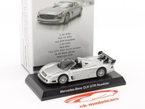 Mercedes-Benz CLK GTR Roadster silber 1:64 Kyosho