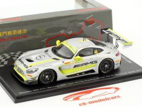 Mercedes-Benz AMG GT3 #48 Winner FIA GT World Cup Macau 2017 Edoardo Mortara 1:43 Spark