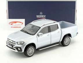 Mercedes-Benz X-Class year 2017 silver 1:18 Norev