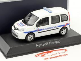 Renault Kangoo Police Municipale year 2013 white 1:43 Norev