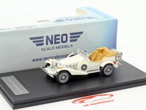 Excalibur Series III Phaeton year 1977 white 1:43 Neo