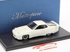 Porsche 924 mondo record auto 1976/1977 bianco 1:43 AutoCult