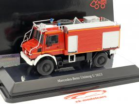 Mercedes-Benz Unimog U 5000 vigili del fuoco rosso 1:50 NZG