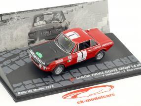Lancia Fulvia Coupe 1.6 HF #1 Winner Rallye du Maroc 1972 Lampinen, Andreasson 1:43 Altaya