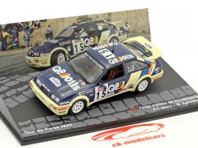 Ford Sierra RS Cosworth #15 7 ° Tour de Corse 1989 Cunico, Sghedoni 1:43 Altaya