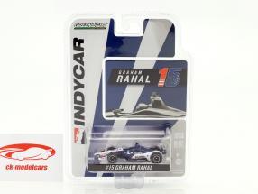 Graham Rahal Honda #15 IndyCar Series 2018 Rahal Letterman Lanigan Racing 1:64 Greenlight
