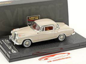 Mercedes-Benz 220 SE coupé année de construction 1959 crème 1:43 Vitesse