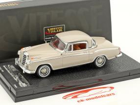 Mercedes-Benz 220 SE coupe año de construcción 1959 crema 1:43 Vitesse