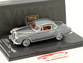 Mercedes-Benz 220 SE coupe year 1959 silver gray metallic 1:43 Vitesse
