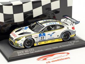 BMW M6 GT3 #22 24h Nürburgring 2016 Graf, Westbrook, Catsburg, Palttala 1:43 Minichamps
