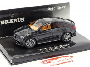 Brabus 850 4x4 Coupe year 2016 black metallic 1:43 Minichamps