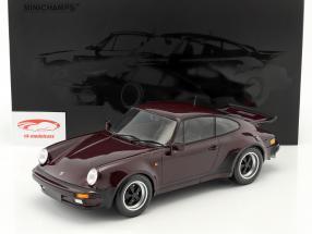 Porsche 911 (930) Turbo Baujahr 1977 lila 1:12 Minichamps